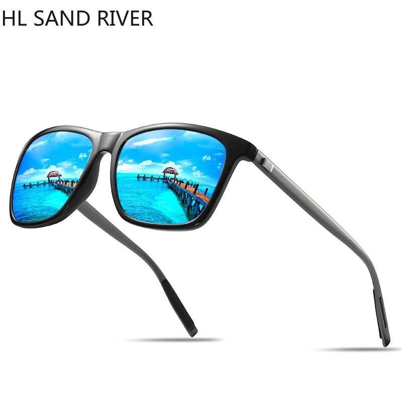 2018 new square male and female polarized sunglasses men and women, colorful fashion series sunglasses UV400