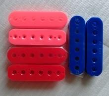 4pcs/Pack PC material Pink/ Red/ Blue color humbucker guitar pickup bobbin 50mm+52mm A set guitar pickup bobbins