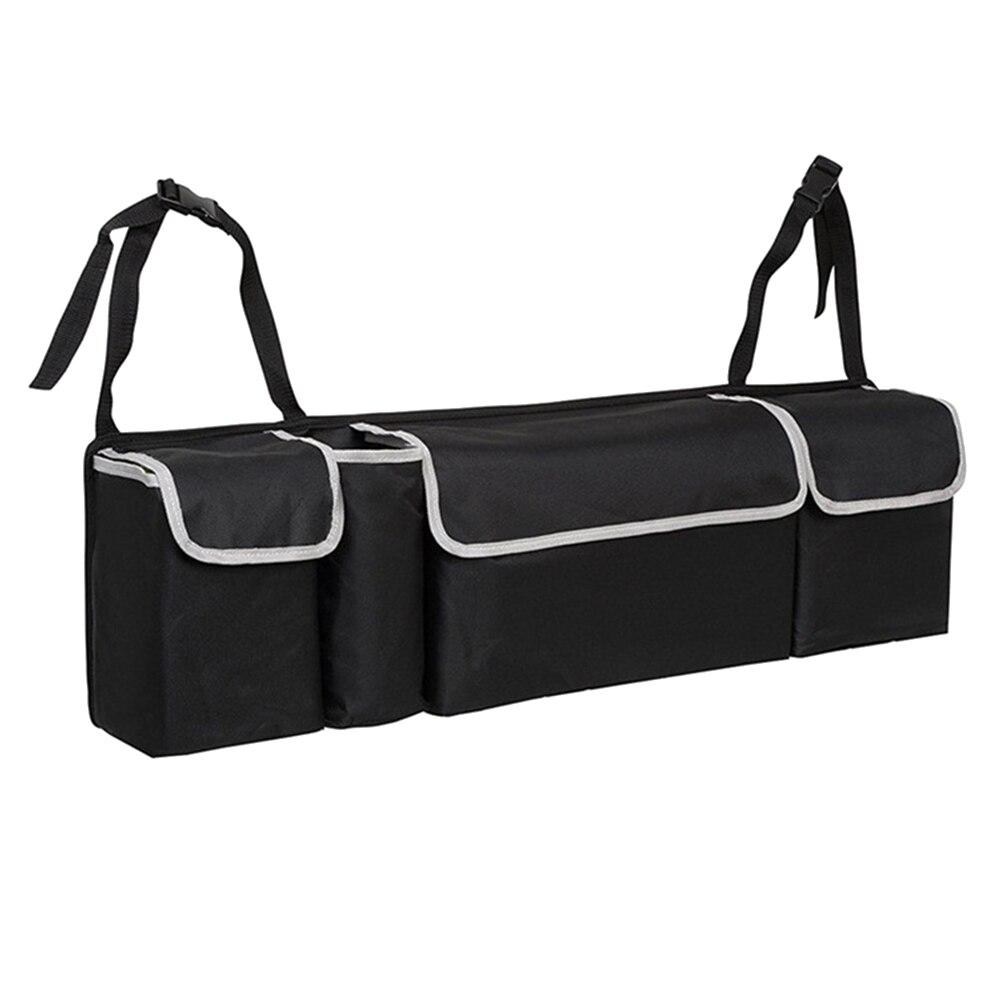 Nuevo organizador de maletero de coche bolsa de almacenamiento de asiento trasero Oxford de alta capacidad asiento trasero de coche organizadores accesorios interiores