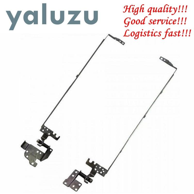 YALUZU nuevo ordenador portátil LCD bisagras para ACER aspire E1-570 E1-530 E1-510 E1-532 E1-552G E1-570G E1-552 PN AM0VR000300 AM0VR000200 L + R