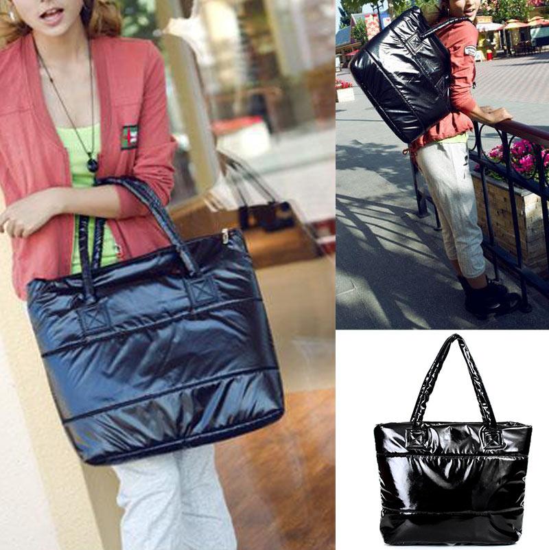 Bags For Women  Fashion Handbag Single Shoulder Tote women's handbags Space Pad Cotton Feather Down Bag
