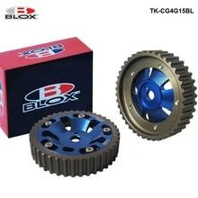 Blox 2Pcs Aluminum Cam Gear Pulley Camshaft For Mitsubishi 4G15 SOHC Engine TK-CG4G15BL