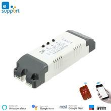 Smart home automation WiFi 2 channel switch inching interlock selflock wifi module ewelink app control remote controlled relay