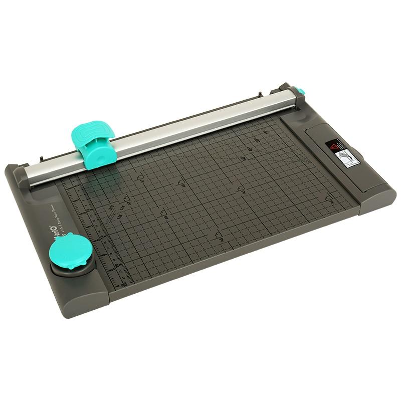 A4 4 In 1 Rotary Paper Trimmer Paper Cutter Wave Dotted Line Scrapbooking Machine For A4 A5 A6 Cutting Mat Paper Photo Cutter