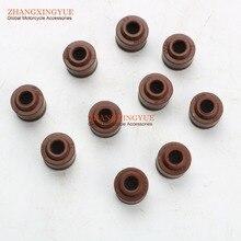 Joint détanchéité dhuile à valve   De haute qualité, pour KYMCO agile 4T porter R10 R12 R16 Rs Filly Lx Super 8 comme la vitalité 50cc 00122779, 10 pièces
