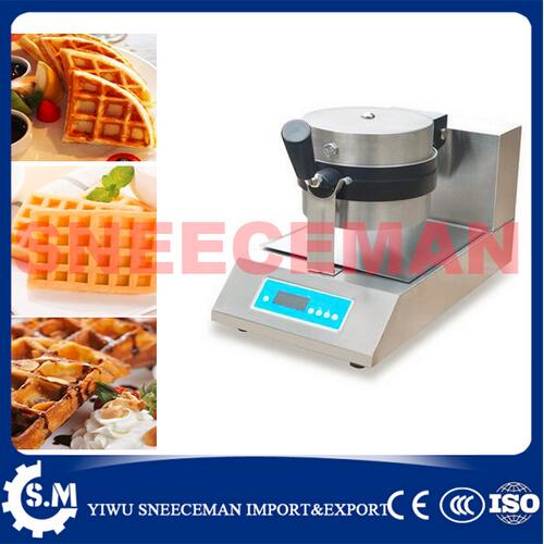 Máquina de horno de gofres rotatoria eléctrica antiadherente comercial, máquina de gofres para hornear, máquina de gofres para pasteles chinos