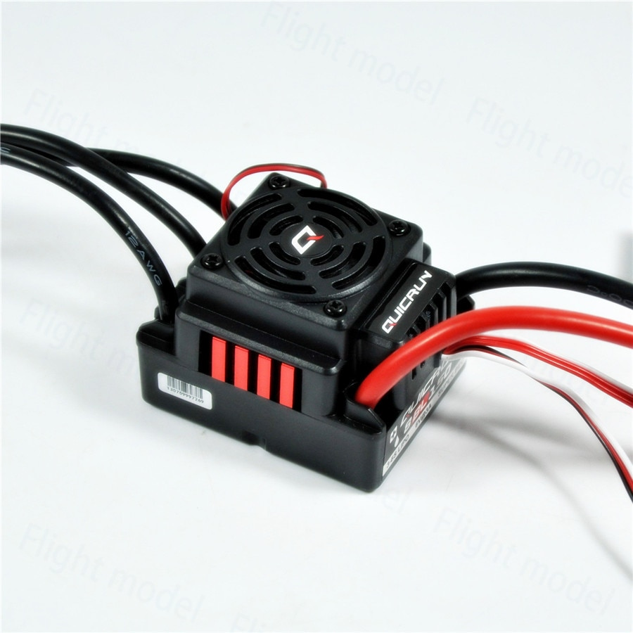 Hobbywing QuicRun-WP-8BL150 150A Waterproof Brushless ESC Speed Controller For 1/8 RC Buggy Monster Sport Car enlarge