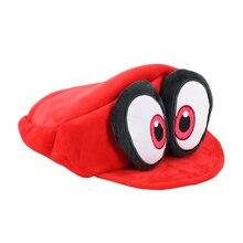 Super Mario Odyssey Cappy Plüsch Spielzeug Rot Cappy Kappe Hut Weiche Angefüllte Puppe Geschenke für Kinder