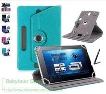 """Dla alcatel one TOUCH ONETOUCH Pixi 3/PLUS/A3/POP 4/1T 10 10.1 """"Cal tablet uniwersalny PU skórzany pokrowiec bezpłatny prezent"""