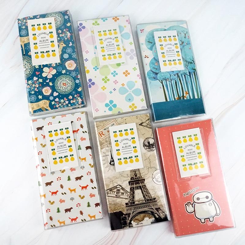 Qianyun 84 bolsillos Álbum de fotografías Polaroid foto instantánea álbum de recortes Fujifilm Instax Mini álbum foto bebé para fotos sellos