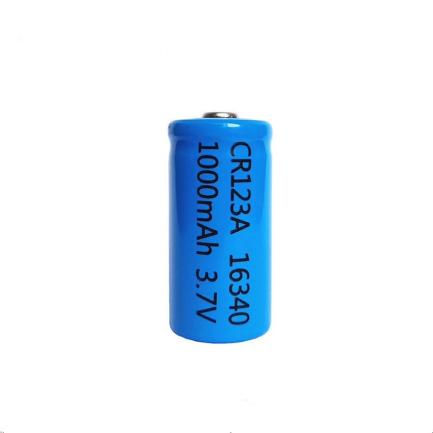 1pcs/lot 3.7V 1000mAh Lithium Li-ion 16340 Battery CR123A Rechargeable Batteries 3.7V CR123 for Laser Pen LED Flashlight Cell
