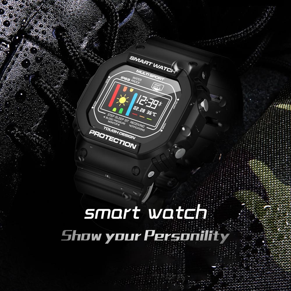 Reloj inteligente para hombre Ip68, relojes deportivos impermeables para ios, Android, Monitor de ritmo cardíaco, presión arterial, ECG, Smartwatch PK Q8 Q9