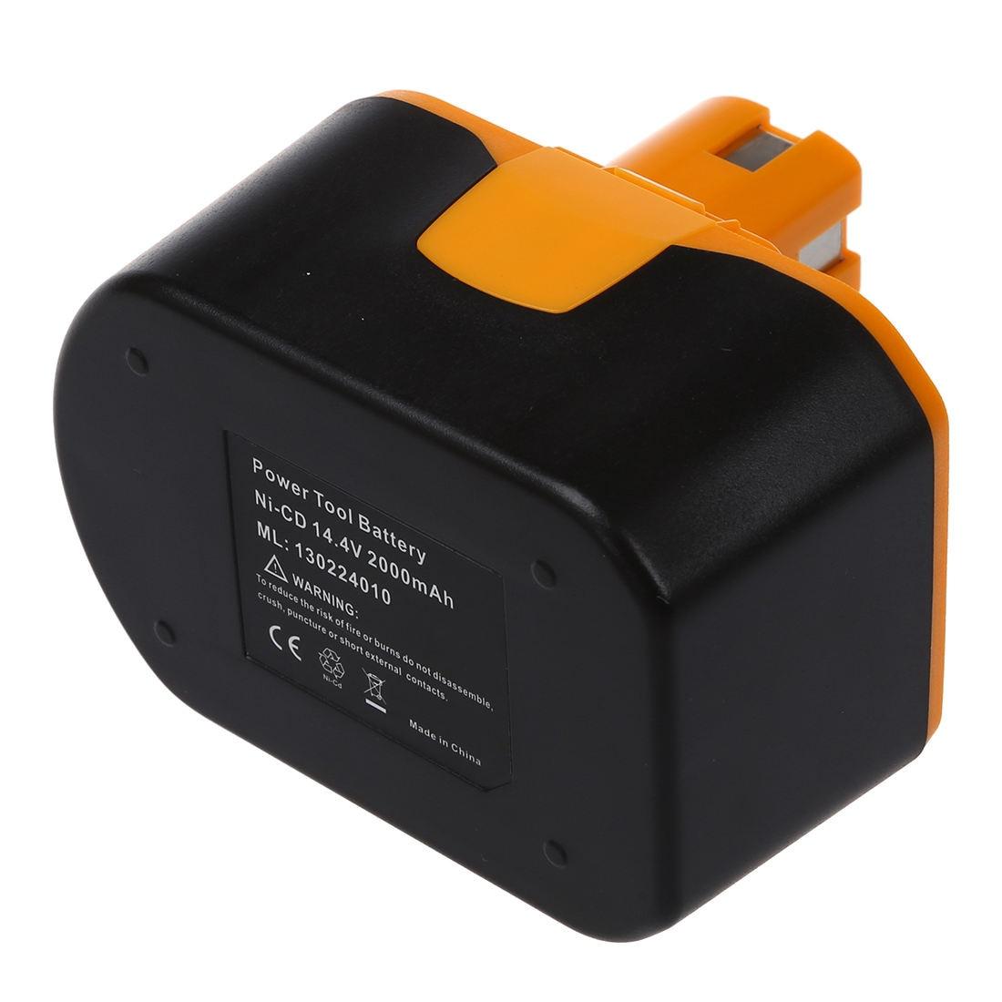 Запасная батарея для электроинструмента RYOBI 14,4 V, RY62, RY6200, RY6201, RY6202, 130224010, и т. Д. Черный и желтый