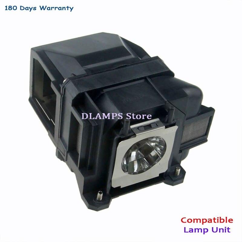 ELPL74 V13H010L74 استبدال مصباح مع الإسكان ل EPSON PowerLite 1930 EB-1930 EB-1935 EMP-54 EMP-74 الكشافات