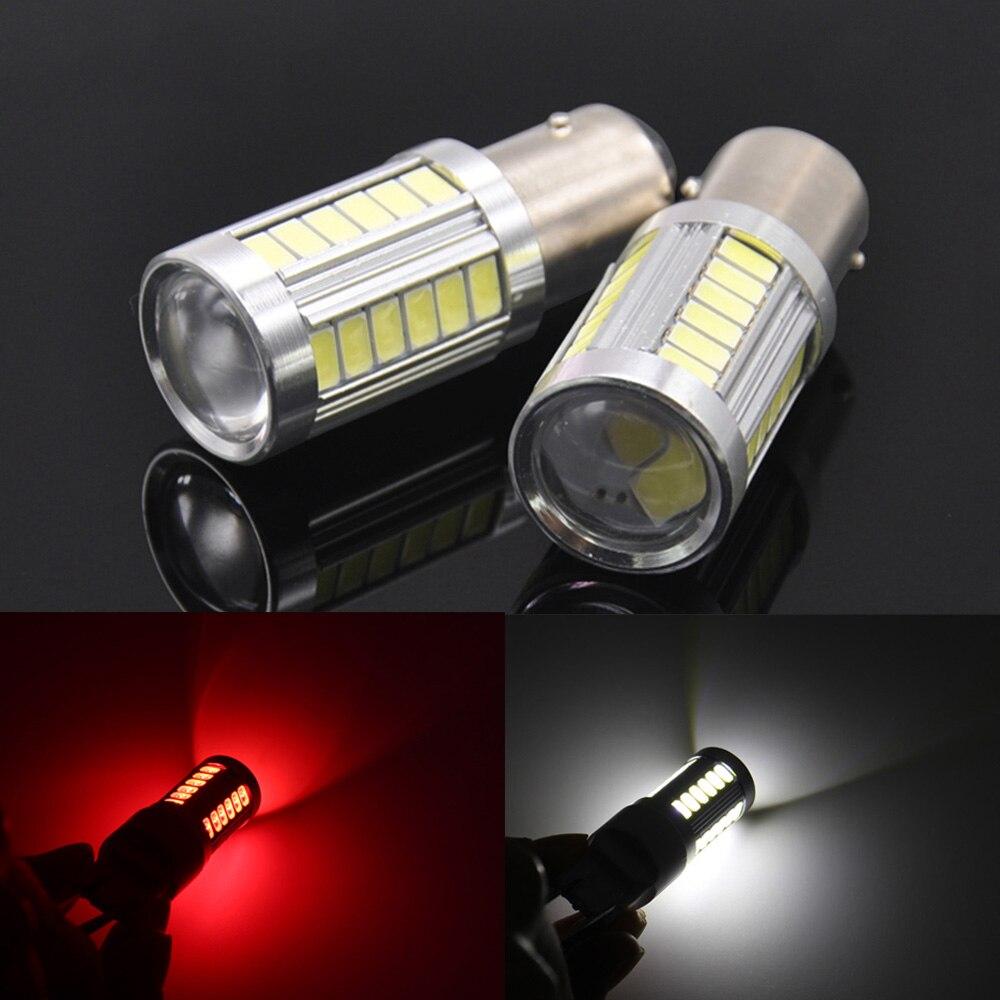 LED Auto luz trasera de freno bombilla 1156 1157 T20 T25 para MITSUBISHI mirage montero sport raider para VOLVO s90 híbrido xc90 s80 etc