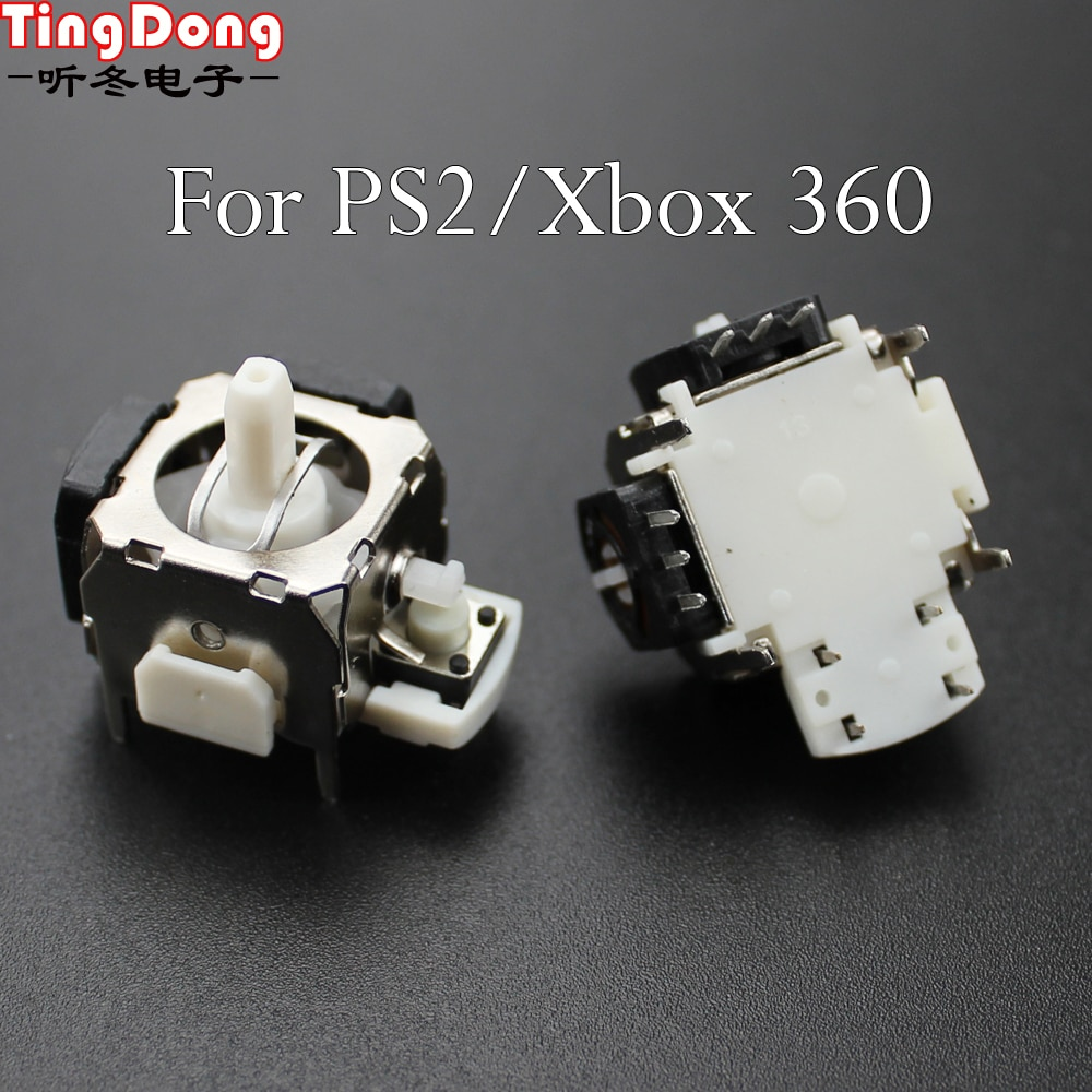 Hot 3D Analog Vibration Joystick Thumbstick Controller Module Thumb Stick Rocker For Xbox 360 For PS2 Game Repair Replacement