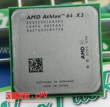 Amd Athlon 64x2 5200 + 2.7 Ghz 1 MB de Cache soquete AM2 940 pin Dual core processor CPU Desktop scrattered peças 5000 5400 5600 6000