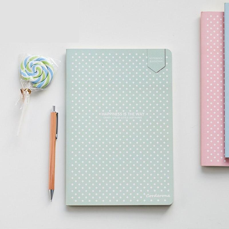 Gepunktete Kugel Notebook Dot Grid Journal Einfache Kleine Tagebuch Weiche Abdeckung Bujo Reise Planer