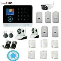 SmartYIBA systeme dalarme wifi GSM   Controle App IOS Android  systeme de securite a domicile  alarme de cambrioleur