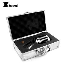 Métal professionnel Vocal dynamique Vintage Microphone pour karaoké haut-parleur enregistrement Studio KTV Jazz scène DJ contrôleur amplificateur