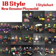 18 Stil mini Playmobil Prinzessin Satz Puppen Royal Bad Kammer und Königlichen Bett Kammer mit Action Figure Spielzeug