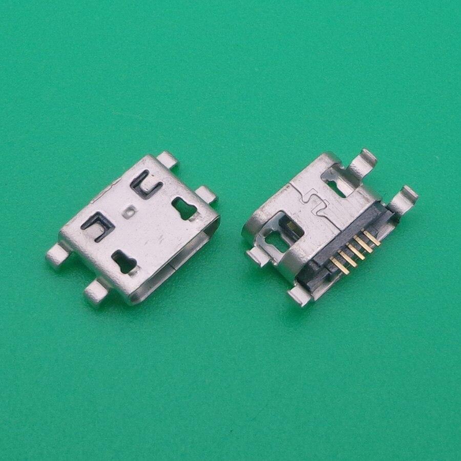 Micro USB jack conector para Lenovo telefone K860 A710 A300 A68E A790e S880 P700 S850E S560 A390T s757 mini tomada de carga