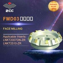ZCC. CT outils de tour haute performance, fraises de face originales FMD03 outils de tour, outils de fraisage indexables, outils de fraisage de visage