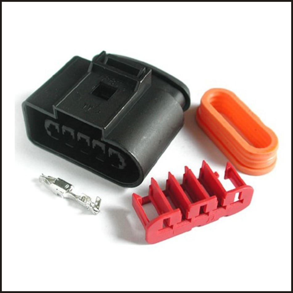 50 مجموعة موصل محطة التوصيل المقبس سترة قطع غيار السيارات البلاستيك الإناث الذكور 5-pin موصل DJ7053Y-3.5-21