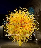 free shipping large project home decoration glass sculpture light lrs001