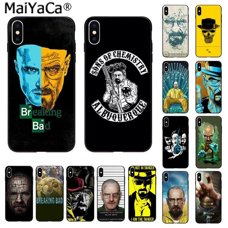 MaiYaCa Breaking Bad Chemistry Walter Customer высококачественный чехол для телефона iphone 11 pro 8 7 66S Plus X XS MAX 5S SE XR