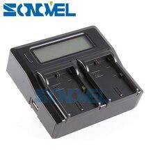 Двухканальный ЖК-аккумулятор зарядное устройство для SONY NP-FW50 A7S A7 II A7RII RX10 III A6500 A6300 A6100 A6000 A5100 A5000 NEX-5R NEX-6 NEX7