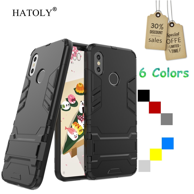 For Cover Xiaomi Mi 8 Case Rubber Robot Armor Shell Hard PC Back Phone Cover for Xiaomi Mi 8 Protect