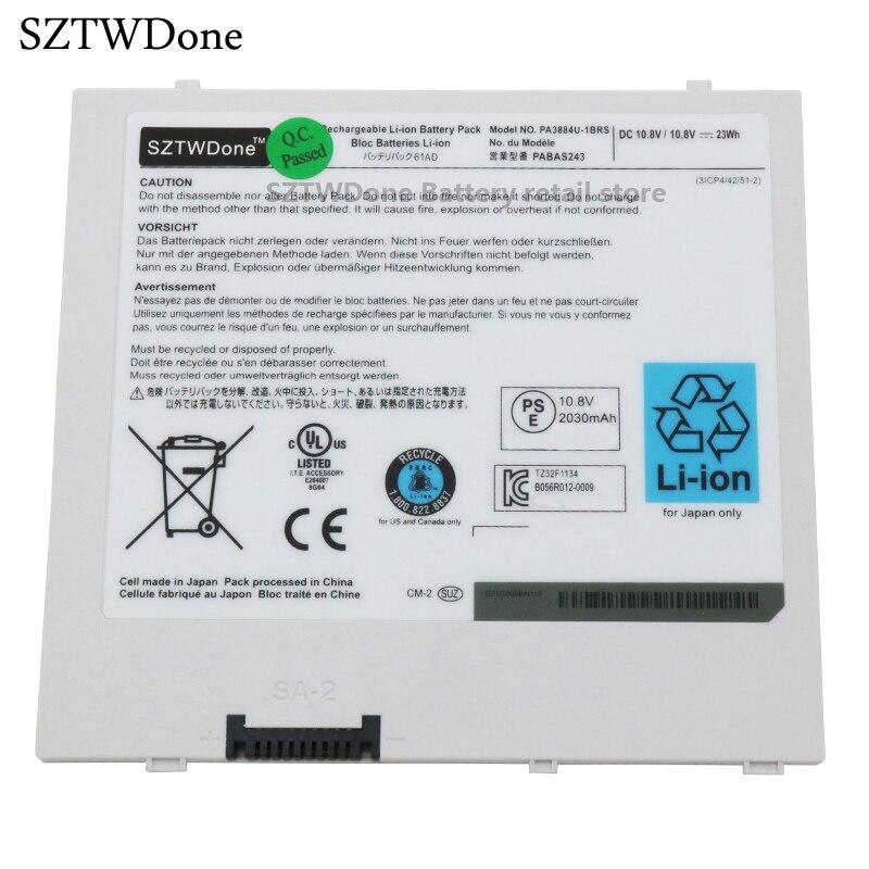 SZTWDone PA3884U-1BRS PABAS243 tablet batería para Toshiba prosperar 10 AT100 AT105 WT310 WT310/C/AT100-T02B AT100-K01B AT100-T01B