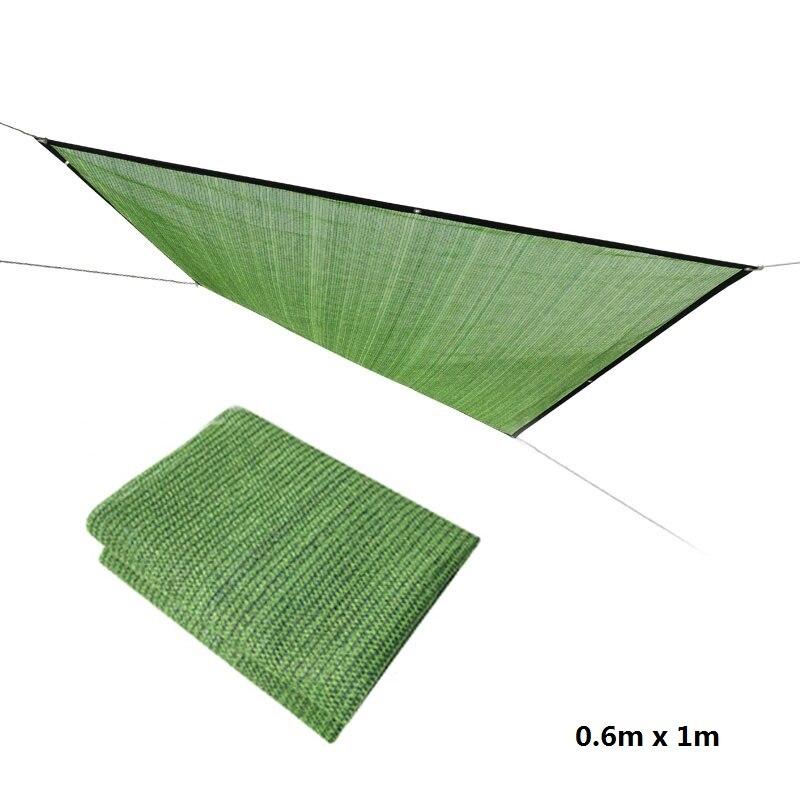 Sun Shade Net 0.6m x 1m Sunscreen Mesh Balcony Garden Gardening Fleshy Sunshade Cover Flower Green Plant Shade Net Free Shipping