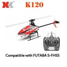 Original XK K120 navette 6CH sans balai 3D/6G système RTF RC hélicoptère