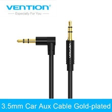 Vention 3.5 mm Jack Audio Cable 3.5 Male to Male Cable Audio 90 Degree Right Angle AUX Cable for Car