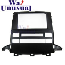 2 DIN için En Kaliteli Araba Radyo Fasya Paneli Toyota Prado J120 2009 Stereo Dash CD Facia Trim kurulum seti