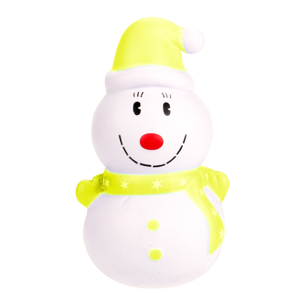 Soft PU Stress Relief Toy Slow Rising Anti-stress Kawaii Santa Claus Snowman Squeeze Kids Toy enlarge