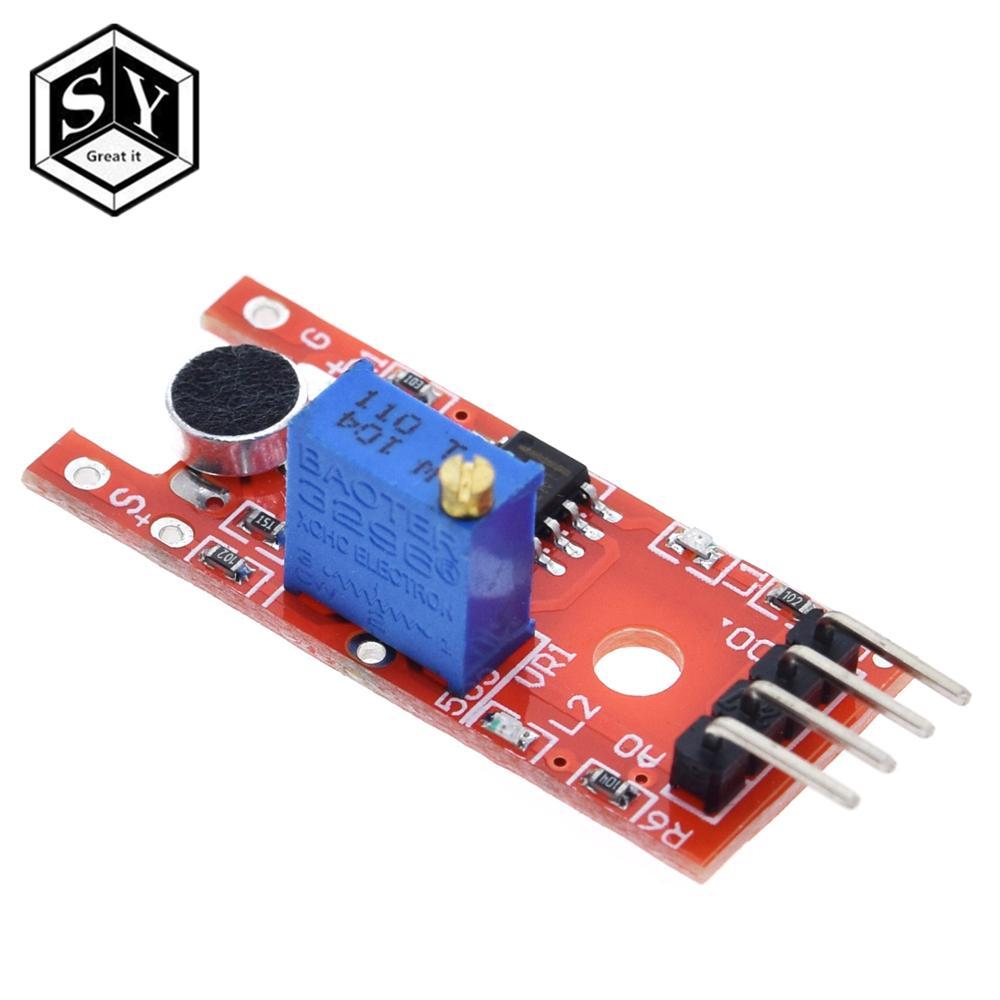 GROßE ES Mikrofon Stimme Sound Sensor Modul Für Arduino Analog Digital Ausgang Sensoren KY-038 KY 038