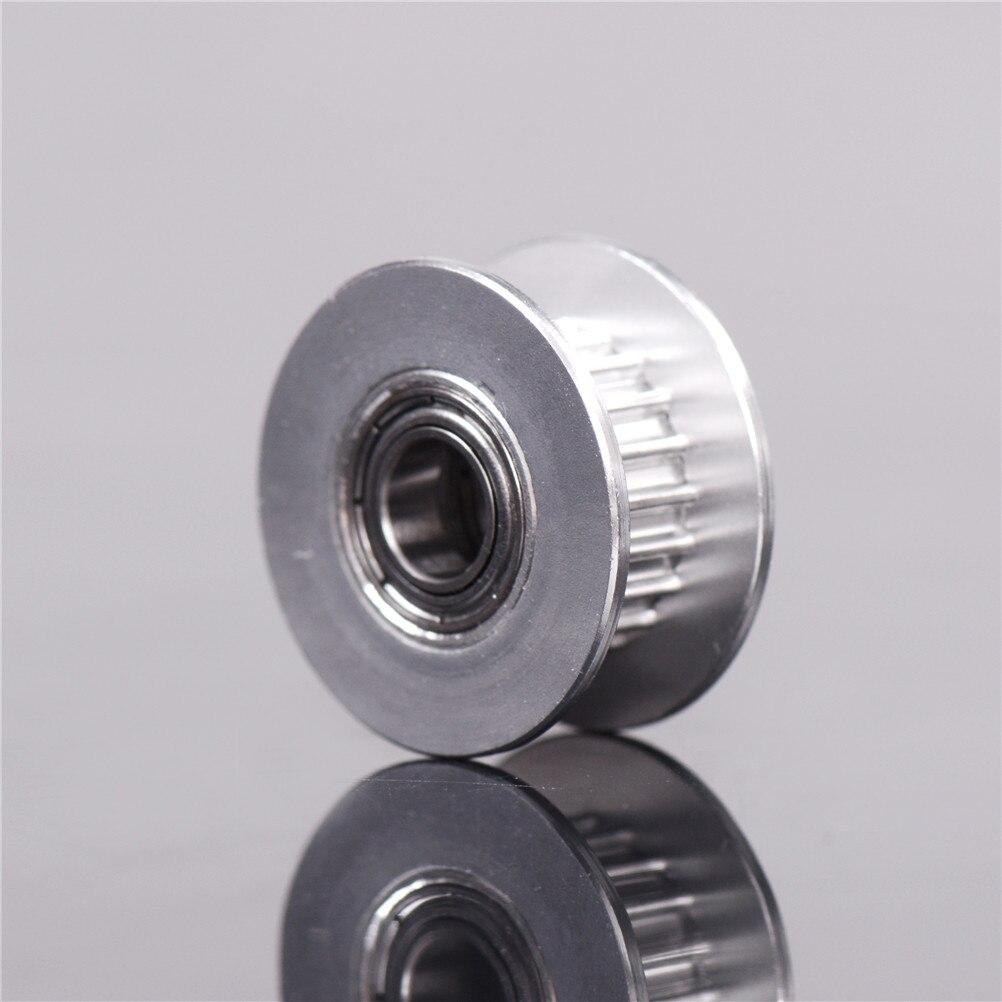 Alta calidad 20T cinturón ancho 6mm GT2 cinturón roldana 5mm agujero aluminio piezas de impresora 3D