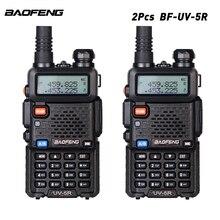Baofeng-talkie-walkie 136   2 pièces/lot, Radios PortableTwo Way 128CH VHF/UHF 174/400-520-MHz, version mise à niveau