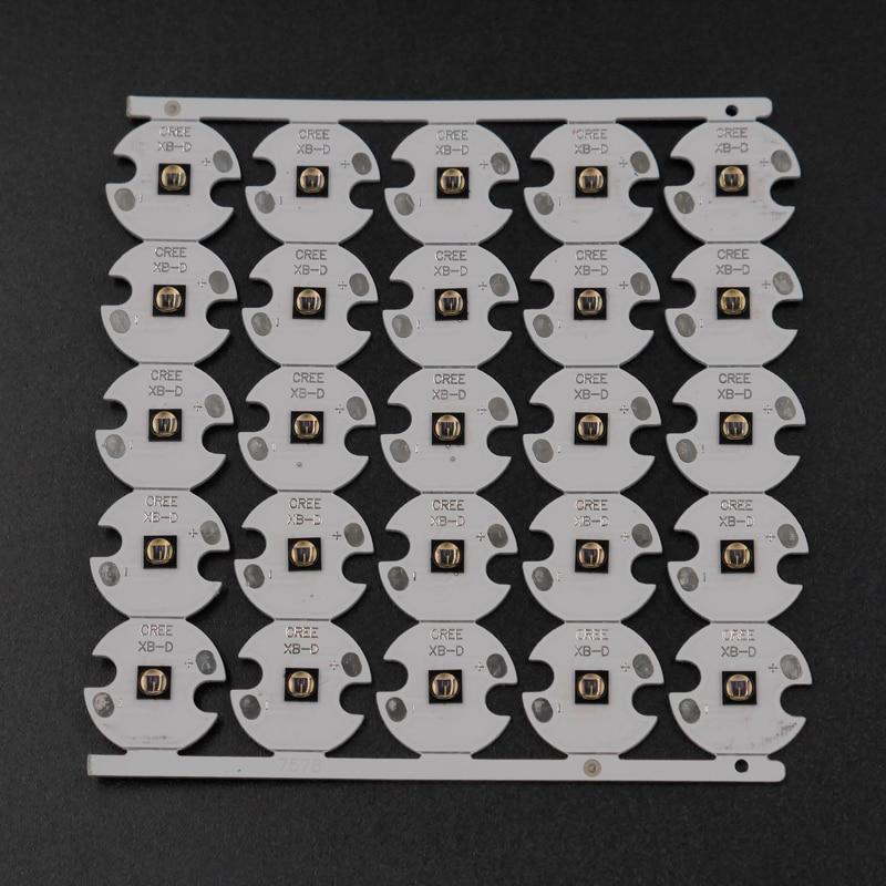 Инфракрасный ИК 850nm 5 Вт SFH 4715AS/3 Вт SFH 4716S светодиодный излучатель ночного видения на 16 мм/20 мм алюминиевой пластине печатной платы