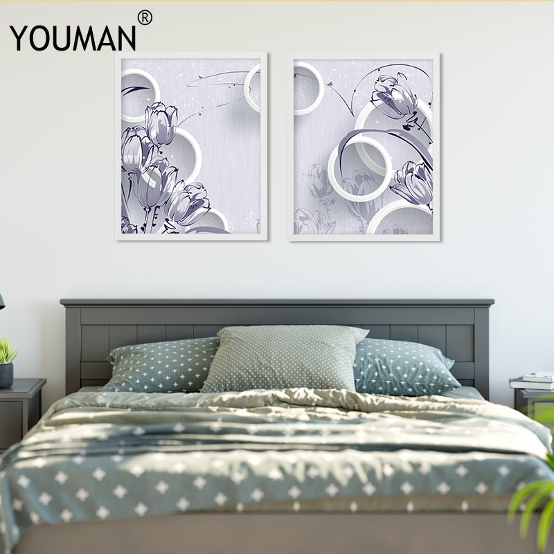 Минималистские обои, плакат, черно-белые холсты, принты на стену, цветочные художественные принты, настенные картины на холсте, плакаты, Дек...