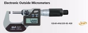 Электронный Внешний микрометр 0-25 мм 25-50 мм IP65 Водонепроницаемый цифровой микрометр 133-01-418