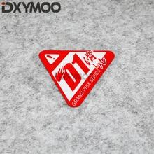 1PCS Car Styling Sticker Decal Japan JDM D1 Drift Slip GRAND PRIX Motorcycle Bike Vinyl Bumper 10x10cm