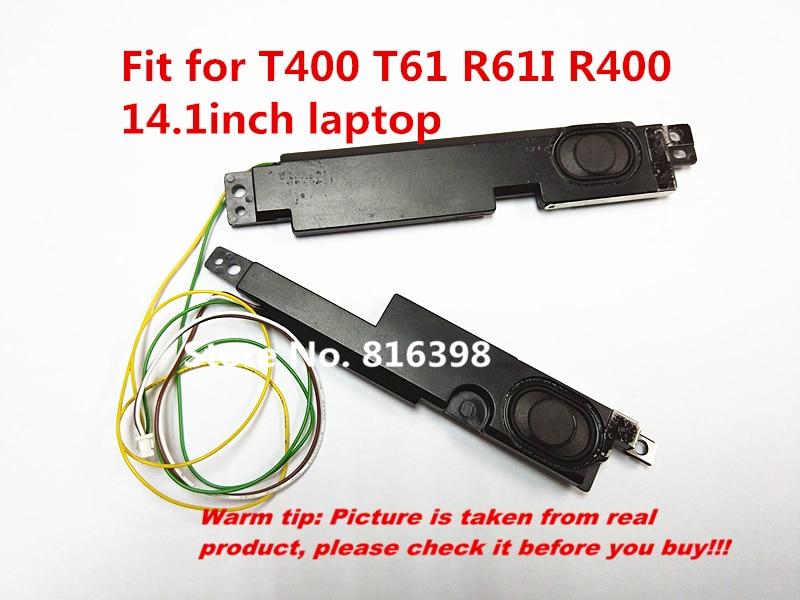 Altavoz HengXC para Lenovo para IBM Thinkpad T400 T61 R61 R400, altavoz apto para ordenador portátil de 14,1 pulgadas, envío gratis FRU 39T7483 90% nuevo