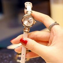 Women's Watch Luxury Casual Dresses Wrist Watches Women Creative Leather Strap Quartz Bracelet Watch Ladies Dress Watches