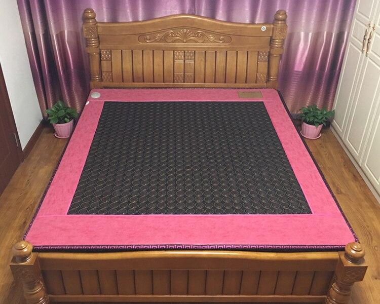 Precio barato, mini colchón de calefacción de turmalina de piedra, colchón de turmalina terapéutica, cojín de cama de 3 tamaños para su elección