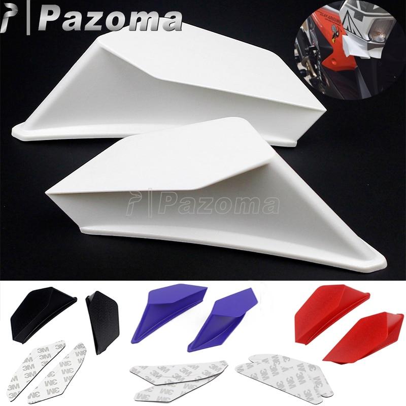 Мотоцикл Скутер аэродинамический Winglets динамический крыло комплект для BMW Honda Yamaha Suzuki Kawasaki Nmax Aerox 155 Aprilia гоночный велосипед