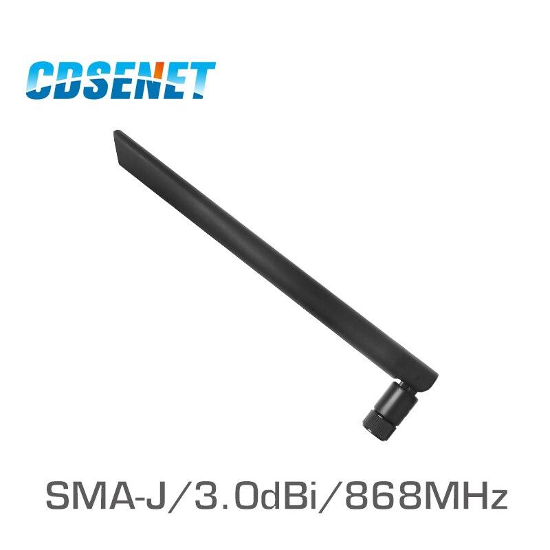С высоким коэффициентом усиления УКВ внешняя антенна CDSENET 868 МГц 3dbi TX868-JKD-20 SMA Мужской Omnidirection радио антенны Усилитель сигнала